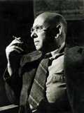 Hanns Eisler in the fifties, photo by Archiv Dr. Jürgen Schebera, Berlin / Thomas Neumann
