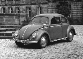 VW Beetle (1951 model), Photo: Lothar Spurzem