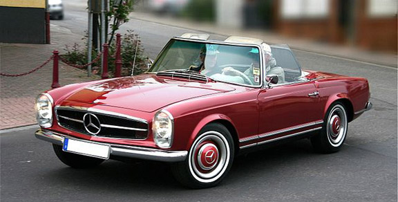 Mercedes-Benz 230 SL Pagoda (1964 model), photo Lothar Spurzem, 2009