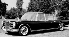 Mercedes-Benz 600 Pullman Landaulet for the Pope, Photo: DaimlerChrysler AG 2006