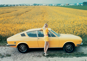 Audi 100 Coupé S, Photo: Audi Archives