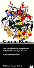 "Poster for the exhibition ""Comic-Kunst"""