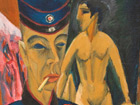 Ernst Ludwig Kirchner, Self-Portrait as a Soldier (1915). From the exhibition: 1914 – The Avant-Gardes at War, Art & Exhibition Hall of the Federal Republik of Germany, 08.11.2013 – 23.02.2014 © Allen Memorial Art Museum, Oberlin, Ohio