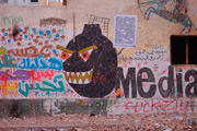 جرافيتي في شارع محمد محمود، نوفمبر 2012