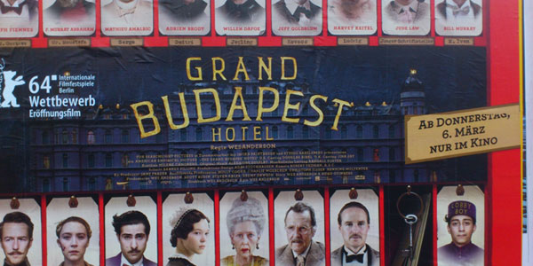 "Plakat ""The Grand Budapest Hotel"" 