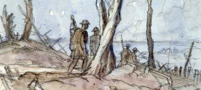 World War I US Military Artists Andre Smith (c) US Center for Military History, Ft. Belvoir, VA