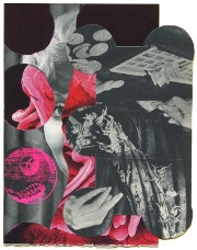 Collage /silk screen print, WVZ 327, 2014