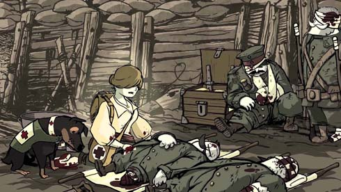 Valiant Hearts: © 2014 Ubisoft Entertainment