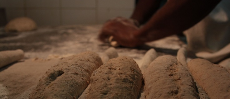 Brot Backen. Foto (CC BY-SA): La conquête du pain
