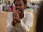 A Sudanese sufi at a Dhikr ceremony in Al-Bakri cemetery