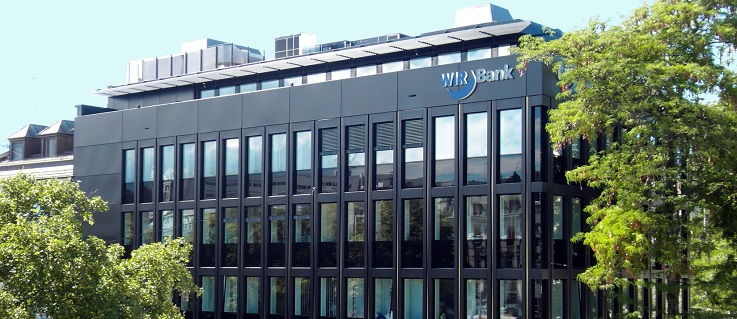 The WIR Bank headquarters in Basel. Photo © WIR Bank Genossenschaft