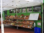 Arcadia's Mobile Market setting up to sell produce at LeDroit Park in Washington, DC. Photo (CC BY-SA): Tegan Gregory