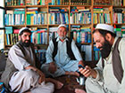 At the book bazaar in Kabul. Photo: Ursula Neumann © Goethe-Institut