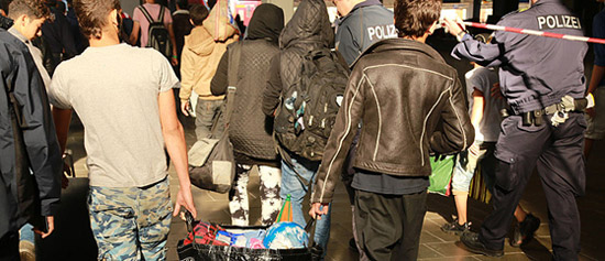 Refugees arriving in Germany: Making productive use of waiting times (Photo: Metropolico.org)