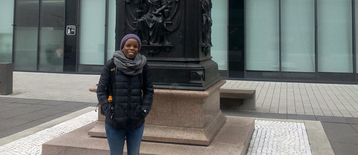 Rachel Muchira from Kenya is doing a Ph.D. at the University of Leipzig. | © Rachel Muchira