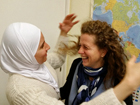 Hend from Syria and the German helper Heike have become friends | © Andrea Marshall