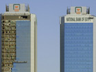 The twin towers of the National Bank of Egypt in Cairo. Photo: Stefan Weidner