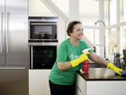 Helpling Verena Weinart can make a living as a cleaner. Photo: Helpling