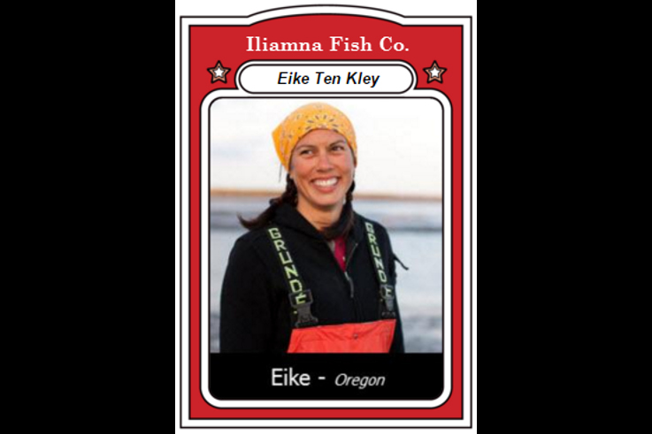 fisherfolk trading card