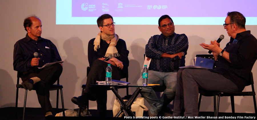 Poets translating poets © Goethe-Insitut / Max Mueller Bhavan and Bombay Film Factory