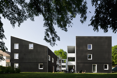Apartments for refugees and homeless persons, Ostfildern, u3ba Arge camilo hernandez urban 3 + Harald Baumann baumannarchitects, Stuttgart, Photo: © Markus Guhl