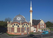 Moschee in Gelsenkirchen/Mosque in Gelsenkrichen, Germany. Copyright: Liebthal