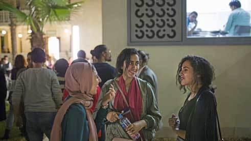 Feminists from the Euro-Arab regions networking | Photo: Sabry Khaled