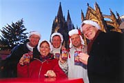 Christmas market, Cologne Cathedral © picture-alliance / Bildagentur Huber