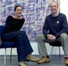 Rory MacLean with Friederike Feldmann. Copyright: Rory MacLean