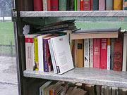 'Biblioteca ao ar livre' na Poppelsdorfer Allee em Bona; Copyright: Südpol-Redaktionsbüro Köster & Vierecke /S.Tenta