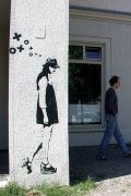 Stencil in Berlin.  Copyright XOOOOX