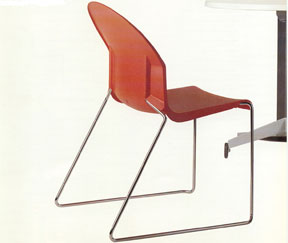 Aida Stacking Chair for Magis, 1999, © Richard Sapper