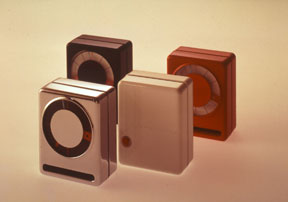 Sandwich Clock for Ritz-Italora, 1971, © Richard Sapper