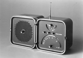 TS-502 Transistor Radio, designed with Marco Zanuso, for Brionvega, 1965, © Richard Sapper