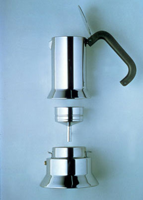 Espresso Machine 9090, Espresso Machine for Alessi, 1978, © Richard Sapper