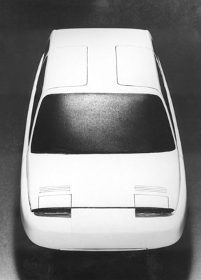 Car Body Model for Touring (Milan), 1968,  © Richard Sapper