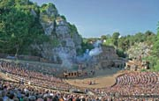 Open air theatre in Bad Segeberg,