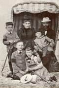 Elisabeth and Wilhelm Bartelmann with their children Hans, Albert, Erna and Max,