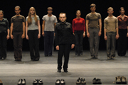 'Young People, Old Voices' (2002); With: Raimund Hoghe and Ensemble; Foto: Rosa Frank