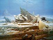 """Caspar David Friedrich (1774-1840) """"El mar de hielo"""", hacia 1823/24 © picture-alliance / akg-images"""