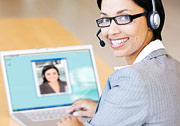 Video chat: body language is vital to learning to understand a languagePhoto: Claudiobaba © iStockphoto