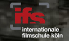 Logo of the international filmsschool cologne; © ifs