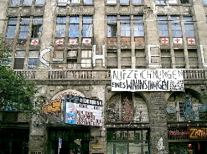 Tacheles building. Copyright R MacLean
