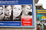 Advertising for ElitePartner; © Thomas Köster