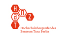 The logo of the Inter-University Centre for Dance Berlin (HZT)