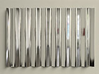 Tim Otto Roth: Sans point de vue. Mirrored foil on corrugated iron, 2009