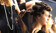 Backstage, Mercedes-Benz FashionWeek Berlin, Copyright: Mercedes-Benz Fashion Week Berlin/Foto: M. Nass/Brauer