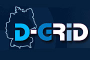 Logo der D-Grid-Initiative des BMBF; © BMBF