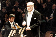 Kurt Masur, Conductor, San Francisco Symphony Orchestra, 2007; Coypright: Public Domain, Photo: Magic5227