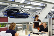 Production BMW X1 at the Leipzig factory; Copyright: BMW AG